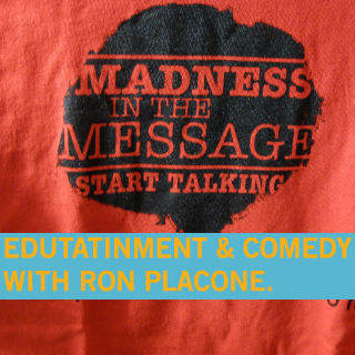 Comedian Ron Placone