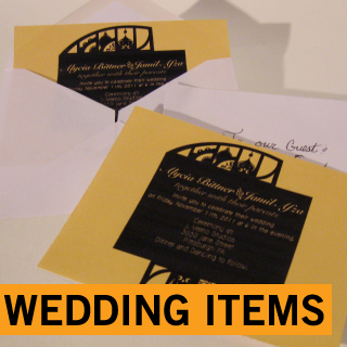WEDDING ITEMS