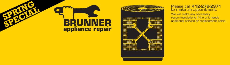 Brunner Appliance Repair Spring Special